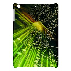 Electronics Machine Technology Circuit Electronic Computer Technics Detail Psychedelic Abstract Patt Apple Ipad Mini Hardshell Case
