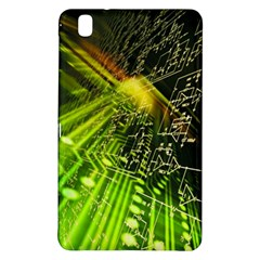 Electronics Machine Technology Circuit Electronic Computer Technics Detail Psychedelic Abstract Patt Samsung Galaxy Tab Pro 8 4 Hardshell Case by BangZart