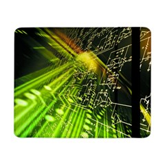 Electronics Machine Technology Circuit Electronic Computer Technics Detail Psychedelic Abstract Patt Samsung Galaxy Tab Pro 8 4  Flip Case
