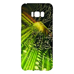 Electronics Machine Technology Circuit Electronic Computer Technics Detail Psychedelic Abstract Patt Samsung Galaxy S8 Plus Hardshell Case