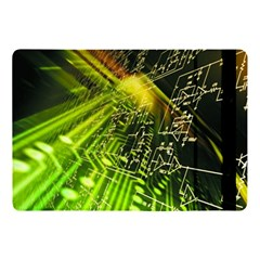 Electronics Machine Technology Circuit Electronic Computer Technics Detail Psychedelic Abstract Patt Apple Ipad Pro 10 5   Flip Case