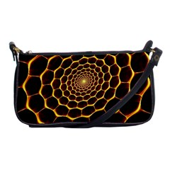 Honeycomb Art Shoulder Clutch Bags