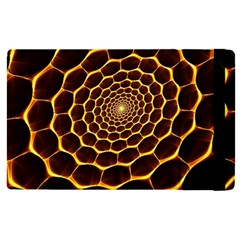 Honeycomb Art Apple Ipad Pro 9 7   Flip Case