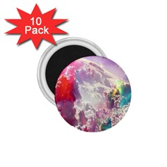 Clouds Multicolor Fantasy Art Skies 1 75  Magnets (10 Pack)