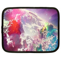 Clouds Multicolor Fantasy Art Skies Netbook Case (xl)  by BangZart