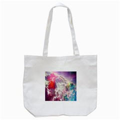 Clouds Multicolor Fantasy Art Skies Tote Bag (white)