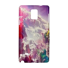 Clouds Multicolor Fantasy Art Skies Samsung Galaxy Note 4 Hardshell Case by BangZart