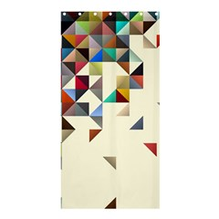 Retro Pattern Of Geometric Shapes Shower Curtain 36  X 72  (stall)  by BangZart