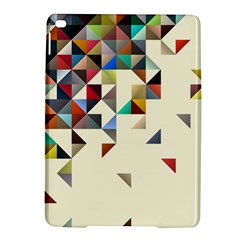 Retro Pattern Of Geometric Shapes Ipad Air 2 Hardshell Cases