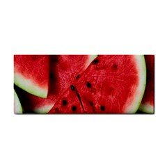 Fresh Watermelon Slices Texture Cosmetic Storage Cases by BangZart