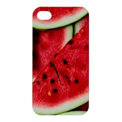 Fresh Watermelon Slices Texture Apple Iphone 4/4s Hardshell Case