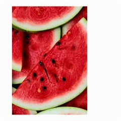 Fresh Watermelon Slices Texture Small Garden Flag (two Sides) by BangZart
