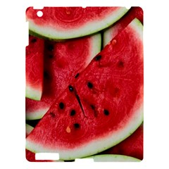 Fresh Watermelon Slices Texture Apple Ipad 3/4 Hardshell Case by BangZart