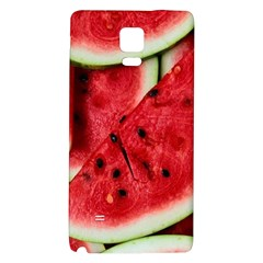 Fresh Watermelon Slices Texture Galaxy Note 4 Back Case by BangZart