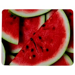 Fresh Watermelon Slices Texture Jigsaw Puzzle Photo Stand (rectangular)
