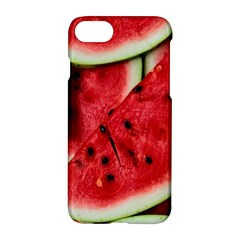 Fresh Watermelon Slices Texture Apple Iphone 7 Hardshell Case by BangZart