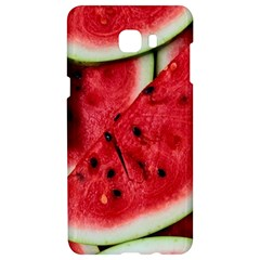 Fresh Watermelon Slices Texture Samsung C9 Pro Hardshell Case  by BangZart
