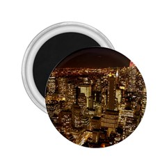New York City At Night Future City Night 2 25  Magnets by BangZart