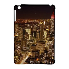 New York City At Night Future City Night Apple Ipad Mini Hardshell Case (compatible With Smart Cover) by BangZart