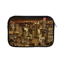 New York City At Night Future City Night Apple Ipad Mini Zipper Cases