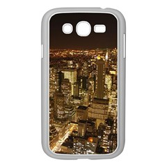 New York City At Night Future City Night Samsung Galaxy Grand Duos I9082 Case (white)