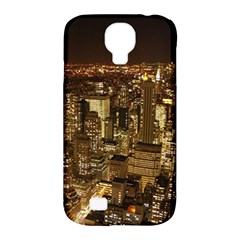 New York City At Night Future City Night Samsung Galaxy S4 Classic Hardshell Case (pc+silicone)