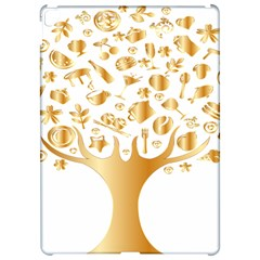 Abstract Book Floral Food Icons Apple Ipad Pro 12 9   Hardshell Case