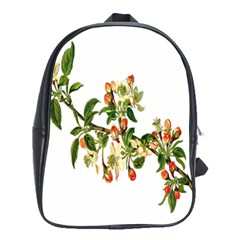 Apple Branch Deciduous Fruit School Bags(large)
