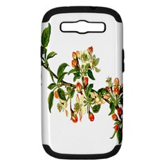 Apple Branch Deciduous Fruit Samsung Galaxy S Iii Hardshell Case (pc+silicone)