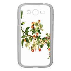 Apple Branch Deciduous Fruit Samsung Galaxy Grand Duos I9082 Case (white)