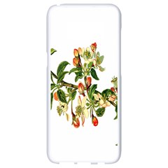 Apple Branch Deciduous Fruit Samsung Galaxy S8 White Seamless Case