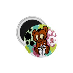 Bear Cute Baby Cartoon Chinese 1 75  Magnets by Nexatart