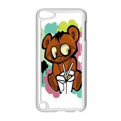 Bear Cute Baby Cartoon Chinese Apple Ipod Touch 5 Case (white)