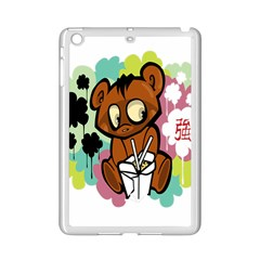Bear Cute Baby Cartoon Chinese Ipad Mini 2 Enamel Coated Cases