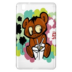 Bear Cute Baby Cartoon Chinese Samsung Galaxy Tab Pro 8 4 Hardshell Case
