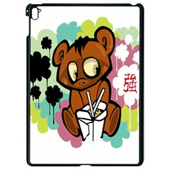 Bear Cute Baby Cartoon Chinese Apple Ipad Pro 9 7   Black Seamless Case by Nexatart