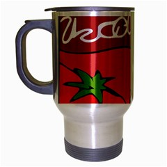 Beverage Can Drink Juice Tomato Travel Mug (silver Gray)