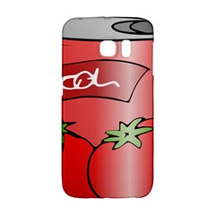 Beverage Can Drink Juice Tomato Galaxy S6 Edge by Nexatart