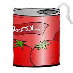Beverage Can Drink Juice Tomato Drawstring Pouches (xxl) by Nexatart