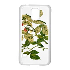 Berries Berry Food Fruit Herbal Samsung Galaxy S5 Case (white) by Nexatart
