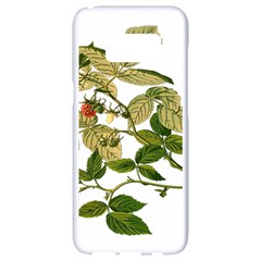 Berries Berry Food Fruit Herbal Samsung Galaxy S8 White Seamless Case