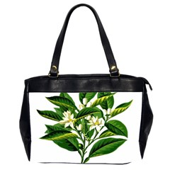 Bitter Branch Citrus Edible Floral Office Handbags (2 Sides)  by Nexatart