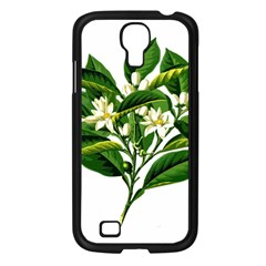 Bitter Branch Citrus Edible Floral Samsung Galaxy S4 I9500/ I9505 Case (black)