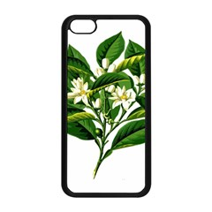 Bitter Branch Citrus Edible Floral Apple Iphone 5c Seamless Case (black)