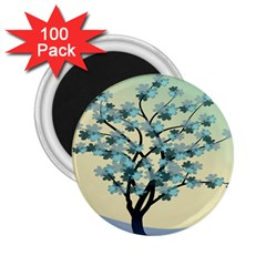 Branches Field Flora Forest Fruits 2 25  Magnets (100 Pack)  by Nexatart