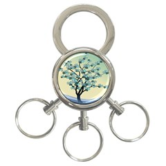 Branches Field Flora Forest Fruits 3 Ring Key Chains by Nexatart