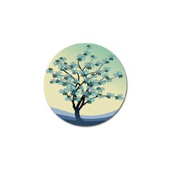 Branches Field Flora Forest Fruits Golf Ball Marker (4 Pack) by Nexatart