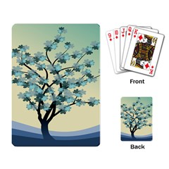 Branches Field Flora Forest Fruits Playing Card