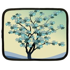 Branches Field Flora Forest Fruits Netbook Case (xl)  by Nexatart