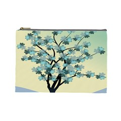 Branches Field Flora Forest Fruits Cosmetic Bag (large)